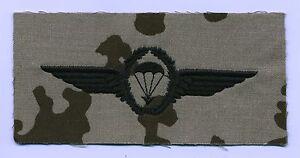 Fallschirmspringerabzeichen,deutsch,Bundeswehr,Springerabzeichen wüstentarn,BRD