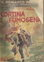 (H.C. Bailey) Cortina fumogena 1950 CDS  il romanzo per tutti n.12  racc. Doyle