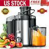 Portable 800W Electric Fruit Juicer Machine Vegetable Extractor Maker Blender