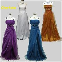 Cherlone Ball Gown Lace Long Wedding/Evening Prom Party Formal Bridesmaid Dress