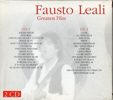 FAUSTO LEALI 2 CD GREATEST HITS Angeli negri + I Successi di Fausto Leali