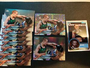 (10) 2018 Topps Chrome UFC ~ Rose Namajunas Lot ~ 8 Base/Ref/Prism Refractor