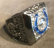 2006-2007 Indianapolis Colts Super Bowl Championship Prototype Ring