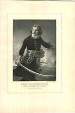 1897 Napoleon Marshal Louis Alexandre Berthier Prince Of Neufchatel Wagram PRINT