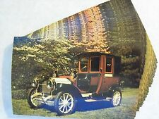 1912 PACKARD MODEL 18 LANDAULET IDENTICAL POSTCARD LOT 25 UNUSED! INVITAITONS 2c
