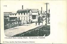 VINTAGE POSTCARD: commonwealth WEST INDIES - BRITISH GUYANA - DEMERARA 1906