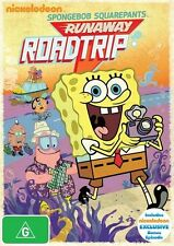 Spongebob Squarepants Runaway Roadtrip (DVD, 2012) region 4
