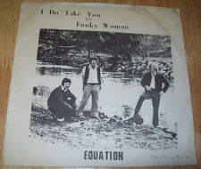 Equation 45 PICTURE SLEEVE I Do Take You Funky Woman A+ FREE US SHIPPING