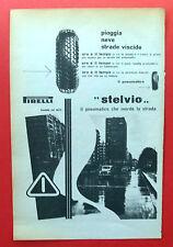 B953-Advertising Pubblicità-1953 - PIRELLI STELVIO