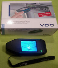 VDO DLK Pro Downloadkey mit aktiv. Kartenleser in OVP + Profi-Software GloFleet