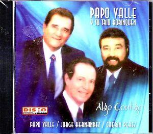 """PAPO VALLE Y SU TRIO  BORINQUEN - """"ALGO CONTIGO""""- CD"""