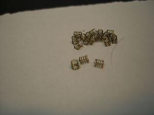 10PR REPRODUCTION H.O SCALE COPPER PICK UP SHOE SPRINGS FITS T-JET 500 & AURORA