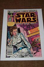 Star Wars Marvel Comics # 65 -Princess Leia-Vintage-Lego Advertisement