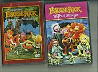 Fraggle Rock 2 DVD's Where it all Began and Dance your cares away