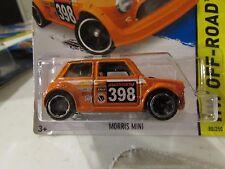 Hot Wheels Morris Mini HW Off-Road Orange