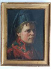 Selbstportrait Eugenie Bandell 1900 Frankfurt Kronberger Künstlerkolonie
