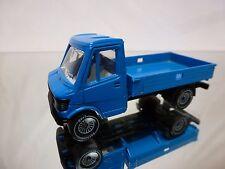 GURI CAR MERCEDES BENZ 307 PICK UP - BLUE 1:65? - VERY GOOD CONDITION - SIKU