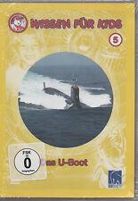 Wissen für Kids 5 Das U-Boot Kinder DVD NEU Wie funktioniert ein U-Boot