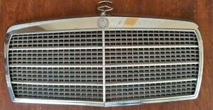 79-91 Mercedes Benz W126 OEM grille 300SE 420SEL 500SEL 560SEL beautiful!!