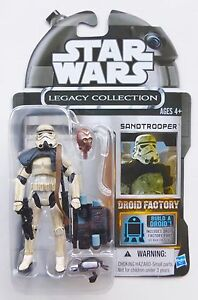 STAR WARS NEW LEGACY COLLECTION USA IMPERIAL SANDTROOPER MOC CARDED FIGURE TLC