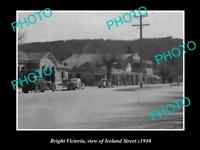 OLD LARGE HISTORIC PHOTO OF BRIGHT VICTORIA, VIEW OF IRELAND STREET c1940