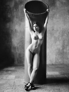 Artnude photograph by Pavel Apletin, silver gelatin signed limited female nudity