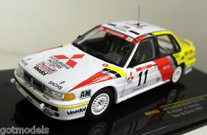 Ixo 1/43 RAC223 Mitsubishi Galant VR-4 #11 Tour de Corse 1991 Diecast Car