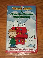New Sealed Charlie Brown VHS Video A Charlie Brown Christmas NIP Peanuts Gang