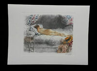 A pair of sleeping nudes by Antoine Calbet,Prints