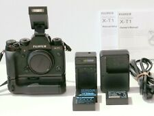 FUJIFILM X-T1 body, 3 batteries, 2 chargers. Manuals. Reduced price