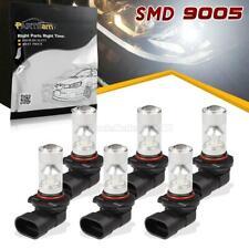 6x 9005 HB3 100W LED 6000K White Projector Fog Driving Light Bulbs 9005XS 9005L+