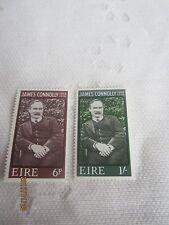 Irlanda 1968 Nuovo di zecca N H Set Di 2 S G 245-6 James Connolly 17/ISB