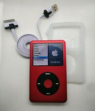 Apple iPod Classic 512GB SSD - 7th gen, red (full refurb, new battery + extras)