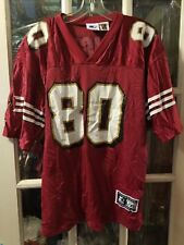 VTG Jerry Rice San Francisco 49ers Jersey Adult L/XL Mississippi Valley State