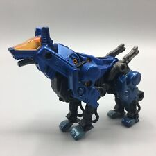 2002 Hasbro Tomy Zoids Blue Command Wolf Figure
