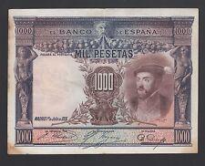 Spain  1000 Pesetas 01-07-1925  F-VF  P. 70,    Banknotes, Circulated