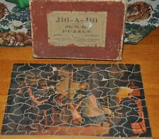 Antique Wooden Jig A Jig Picture Puzzle Parker Brothers Pastime J 50 Mother Love