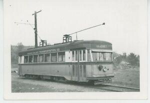 1943 Yakima Valley Transportation #20 Streetcar Trolley Electric Transit WA