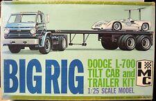 Vintage IMC Big Rig Dodge L700 Tilt Cab And Trailer Kit