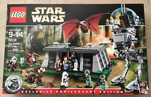 NEW Lego 8038 Star Wars The Battle of Endor FACTORY SEALED Paploo Chief Chirpa