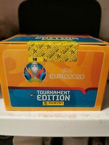 Panini EURO EM 2020 Tournament Edition 1 x Display  Box 100 Tüten Sticker Neu