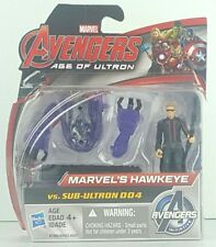MARVEL AVENGERS AGE OF ULTRON HAWKEYE VS. SUB-ULTRON 004 2-PACK New In Hand P2