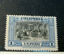 Colombia Stamp Scott# C131 Pro. of Independence 1941 MH  H40