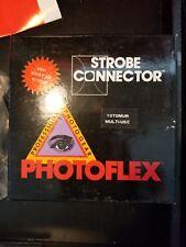 Photoflex Strobe Connector 1070MUR - Unused W/ Box & Tshirt Order Form