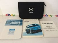 2004 Mazda 3 Owners Manual Owner's Guide with Case + More!
