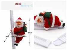 Novelty Electric Santa Claus Creative Plush Santa Doll Toy Climb The Ladder Toys