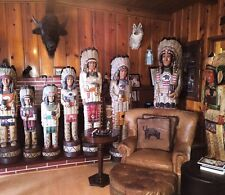 Ralph Gallagher Cigar Store Indian 4 ft.Tall & Over 40 Years Old Mint Condition