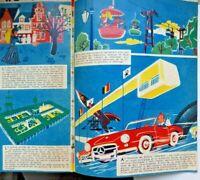 Rare revue de l'expo 1958 Bruxelles avec dessins de Will sur TINTIN et autres