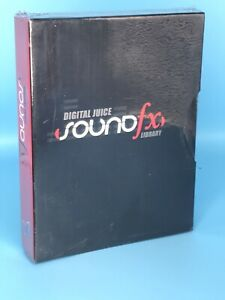 Brand New Digital Juice Sound FX Library DVD-ROM 10 Disc Set with Case & Box