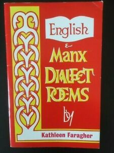 English & Manx Dialect Poems by Kathleen Faragher, RARE poetry book, Isle Of Man